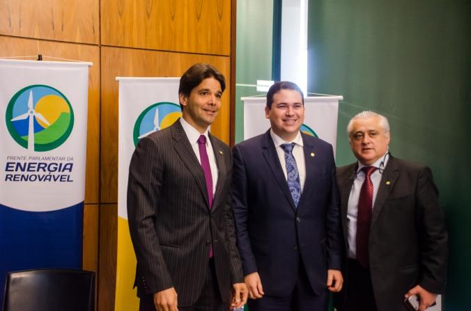 Felipe Maia, Beto Rosado e Odorico Monteiro
