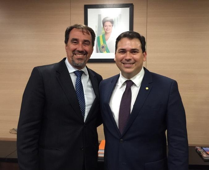 Beto Rosado e Gilberto Occhi