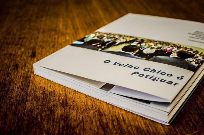 Capa do livro O VELHO CHICO É POTIGUAR