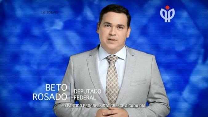 Beto Rosado no Programa Partidário