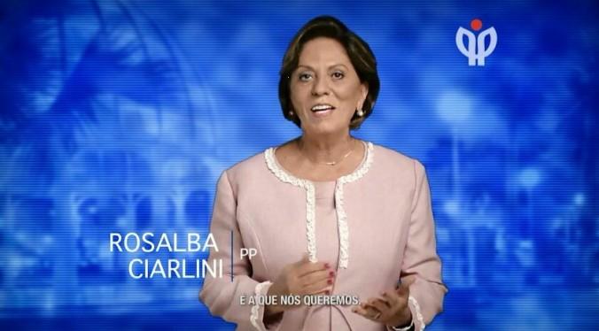 Rosalba no Programa Partidário