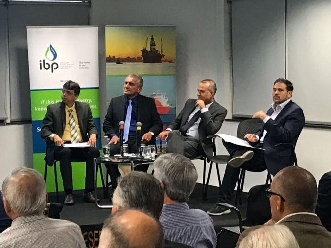 Conferência no Instituto Brasileiro de Petróleo no RJ