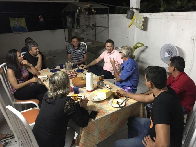 Município de Pilões_Ex-pref. AugustoAquino - vereador Brendo e o amigo Lau